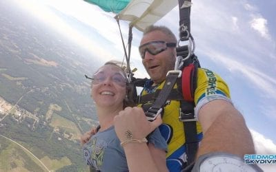 Concentrated Inspiration: Piedmont Skydiving Welcomes Dynamo Jarrod Spears to the Sky