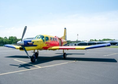 PAC 750 XL Skydiving Plane outside of Charlotte in North Carolina